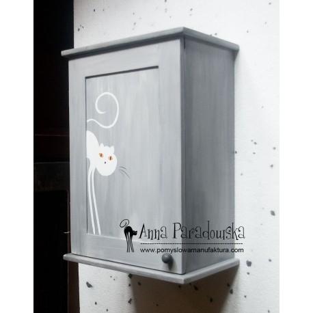 Szafka na licznik Kot